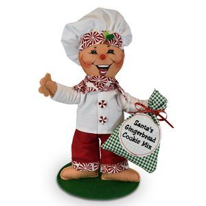 Annalee NWT 9in Gingerbread Cookie Christmas Chef